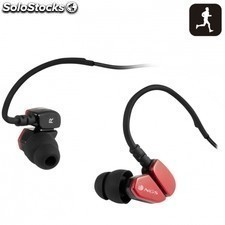 Auricular deportivo NGS camaleon - stereo - resistente al agua - microfono