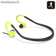 Auricular deportivo ngs sport headphone yellow cougar