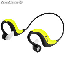 Auricular deportivo por bluetooth yellow