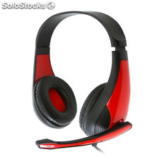 Auricular Gaming Omega Freestyle FH4008R Rojo