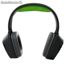 Auricular keep out HX5CH Gaming negro/verde