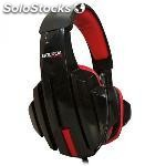 Auriculares approx gaming skull con microfono cable nylon 2M altavoz 40MM -