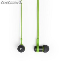 Auriculares auriculares verde