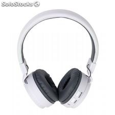 "Auriculares Bluetooth ""Free Music"" , blanco"