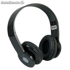 Auriculares Bluetooth MTK Comp-PS3 Negro
