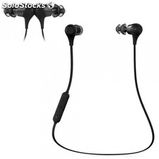 Auriculares bluetooth optoma BE2 negros - bt 4.1 - 20HZ-20KHZ - protección