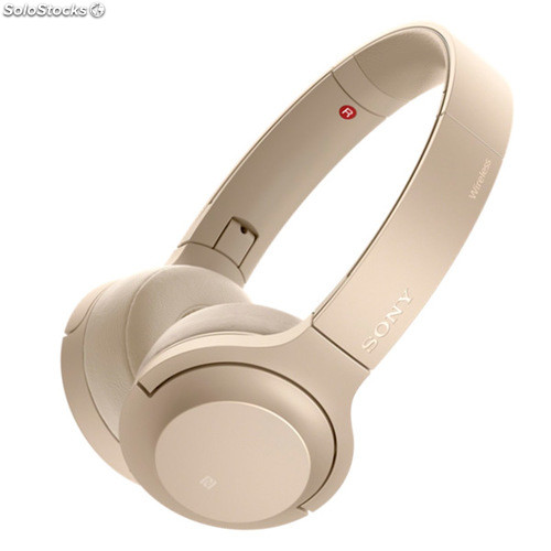 c9298727639 Auriculares Bluetooth Sony wh-H800G 100 dB nfc Oro
