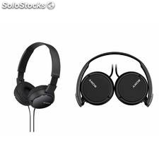 Auriculares cascos plegables sony mdr-ZX110