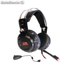 Auriculares con Micrófono Gaming Tacens MH316 7.1 Surround USB + 40 mm...