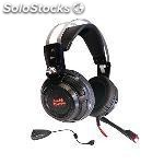 Auriculares con micrófono gaming tacens MH316 7.1 surround usb + 40 mm
