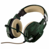 Auriculares con microfono trust gaming gxt 322c verde camuflaje - - Foto 1