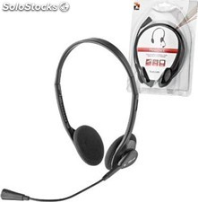 Auriculares con microfono Trust primo Headset - black (multi function headset