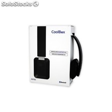 Auriculares Coolbox Bluetooth H2 Black