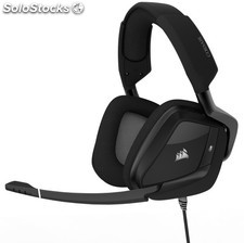 Auriculares corsair void pro rgb usb premium gaming dolby 7.1 negro carbon