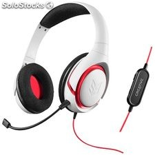 Auriculares Creative labs sb iinferno white