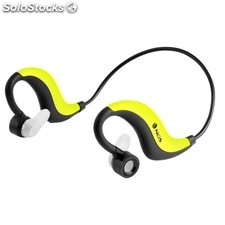 Auriculares deportivos bluetooth NGS Yellow Artica Runner water resistant