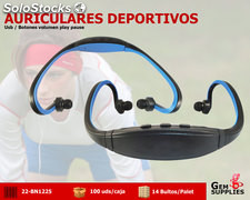 Auriculares deportivos bluetooth We Sound