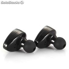 Auriculares Deportivos CoolBox 222116 Bluetooth Negro
