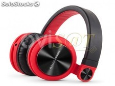 Auriculares diadema Energy Headphones DJ2 Red plegables