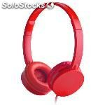 Auriculares energy sistem colors headphone cherry