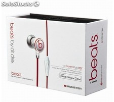 Auriculares estéreo Monster iBeats by Dr. Dree blancos