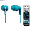 Auriculares Estereo Silicona panasonic rp-hje125 MP3 Movil Tablet pc azul