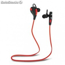 Auriculares forever bluetooth bsh-100 rojo