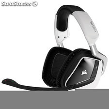 Auriculares gaming Corsair void usb Dolby 7.1 rgb blanco