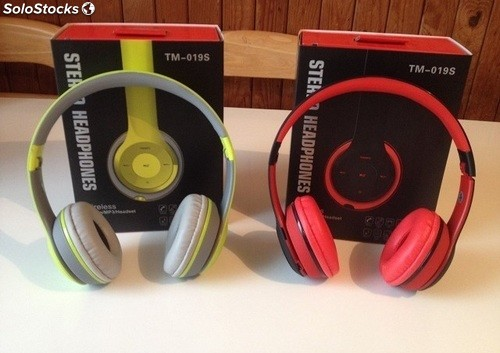 Auriculares Inalámbricos Bluetooth Manos Libres MP3 TM-019