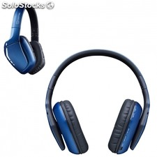 Auriculares inalambricos hiditec cool blue - bt 4.1 - altavoces 40MM -