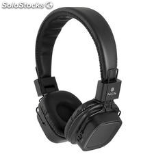 Auriculares Inalámbricos NGS Artica Jelly MicroSD Bluetooth Negro