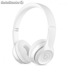 Auriculares inalambricos SOLO3 wireless on-ear headphones blanco brillo -