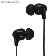 Auriculares intrauditivos Pioneer silicona negros CL501NG