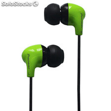 Auriculares intrauditivos Pioneer silicona verde CLE501VE