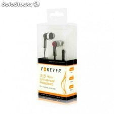Auriculares m/l forever universal headset negro