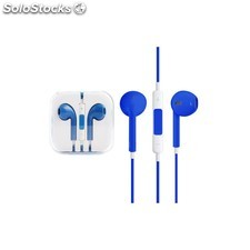 Auriculares manos libres iphone android azul