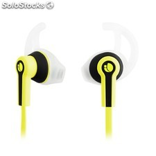 Auriculares micro ngs sport racer amarillo PGK02-A0010986