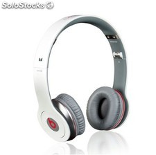 Auriculares Monster Beats Solo by Dr. Dree blanco