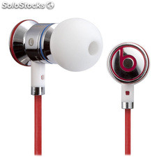 Auriculares Monster IBEATS by Dr Dre color blancos