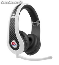 Auriculares Monster MVP Carbon blancos by EA Sports