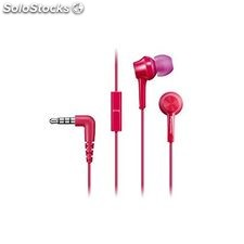 Auriculares Panasonic RP-TCM105E in-ear Mic Rosa
