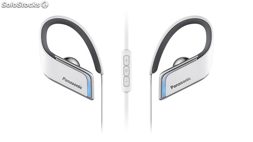 Auriculares panasonic RPBTS50 Blanco Bluetooth