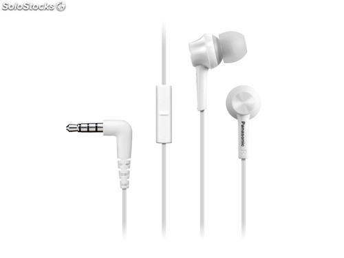 Auriculares panasonic RPTCM105 Blanco Movil