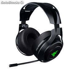 Auriculares razer wireless manowar 7.1- pc/ps4