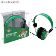 Auriculares Real Betis Balompie