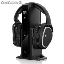 Auriculares sennheiser rs 165 tv wireless negro PGK02-A0005534
