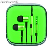Auriculares Song Verde