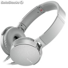 Auriculares sony mdr-XB550AP extra bass blanco
