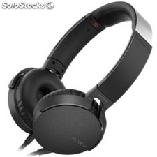 Auriculares sony mdr-XB550AP extra bass negro