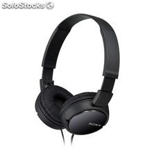 Auriculares Sony MDR ZX110 Negro Diadema